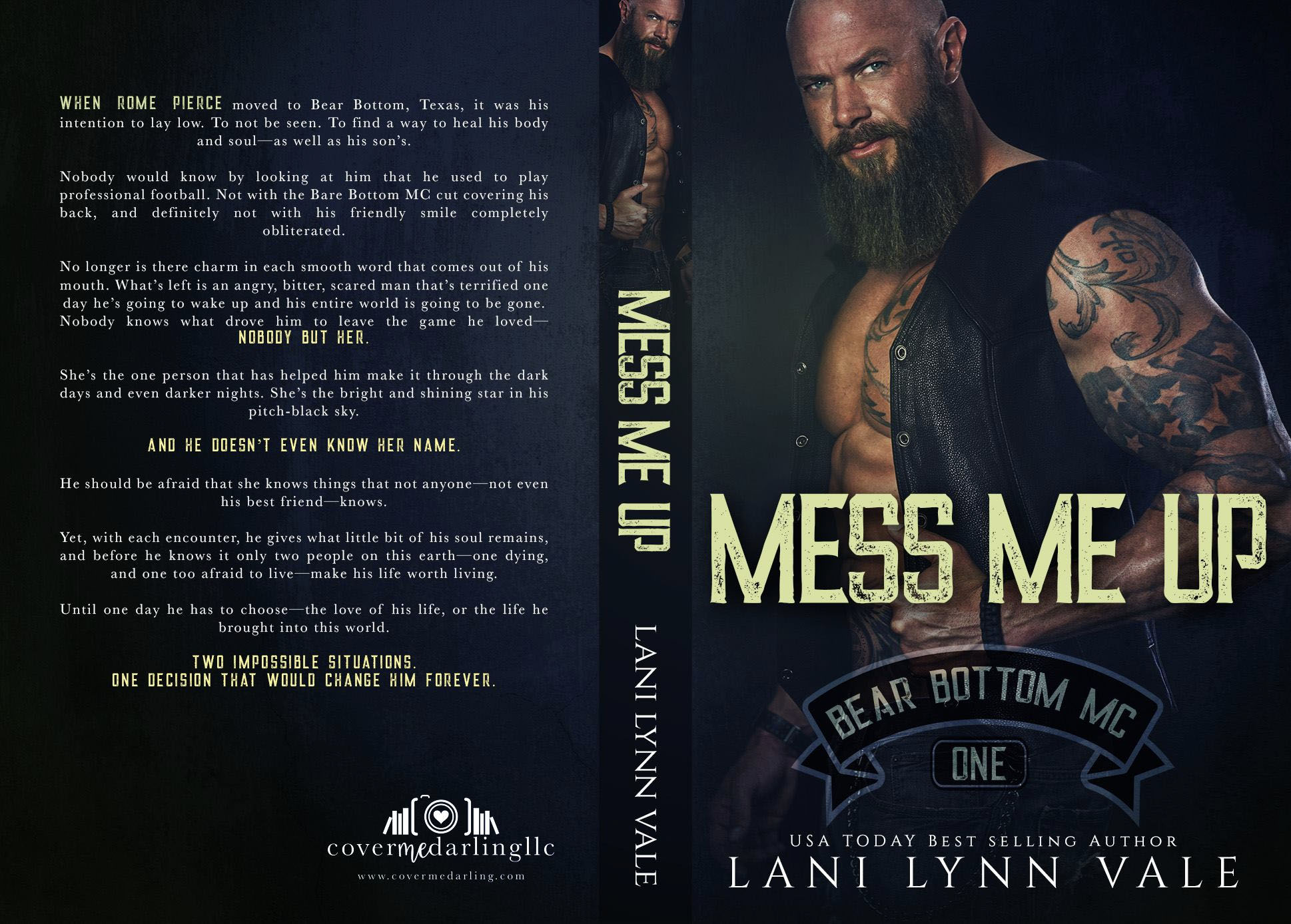 Mess Me Up Print Coverflat